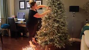 how to light your tree the easy way