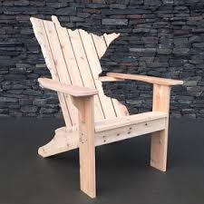 minnesota adirondack chair made from cedar http www