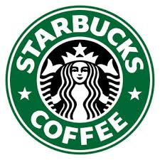 ID SP00021 Starbucks Coffee LOGO With Surrounding Letter Vinyl Decal No White Background