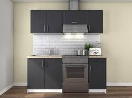 meuble cuisine cdiscount black friday cdiscount cuisine complète obi gris mat 1m80 à 99 99