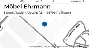 möbel ehrmann hauptstraße in reilingen möbel laden geschäft