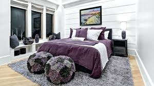 Purple And Black Room Excellent Stunning White Bedrooms Home Design Lover With