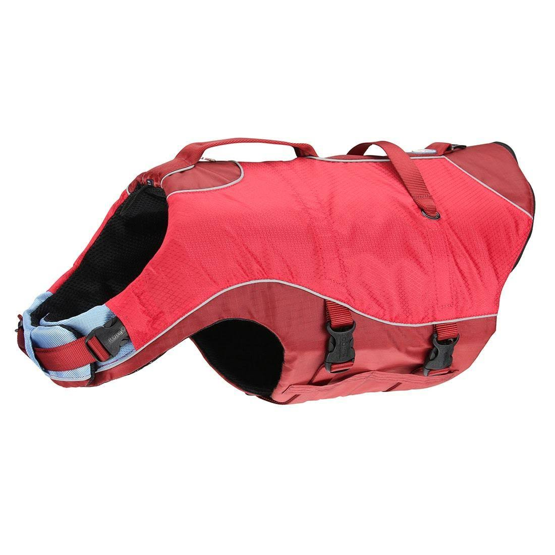 Kurgo Surf n' Turf Dog Lifejacket and Coat - Red, Medium