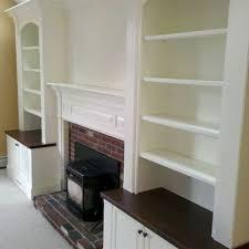 best 25 shelves around fireplace ideas on pinterest craftsman