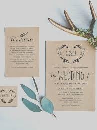 Best 17 Rustic Wedding Invitations Ideas On Pinterest
