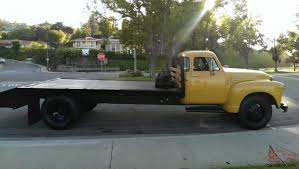 100 1951 Chevy Truck For Sale 5 Window 25 Ton Deluxe Cab Car Carrier Flat Bed Tow Truck