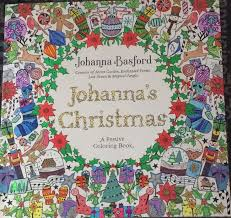 Magical Christmas Johanna Basford Coloring Books Sparkle Noel Vintage Pages Book