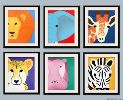 Baby Wall Decals South Africa by Kids Art For Children Kids Decor Jungle Nursery Art Safari