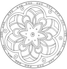 Coloring Pages Mandala Free Printable For Kids With Additional Adults Designs Owl