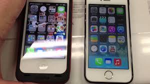 iPhone 4S vs 5S Wi Fi vs 4G LTE MULLY