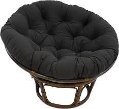 Blazing Needles Solid Twill Papasan Chair Cushion, 48
