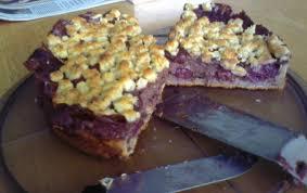 schoko kirsch pudding streusel kuchen stefan
