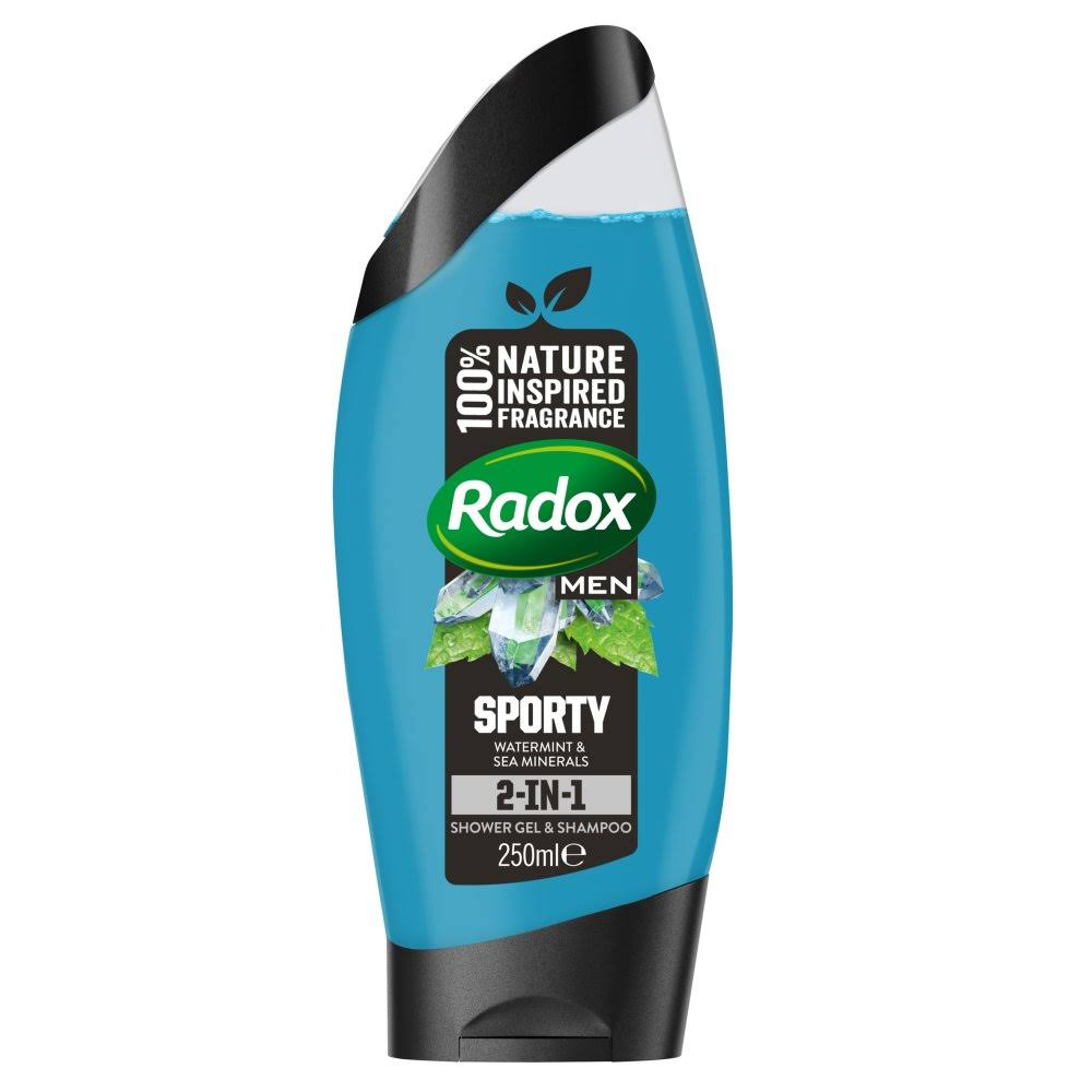 Radox Feel Sporty 2 in 1 Shower Gel - 250ml