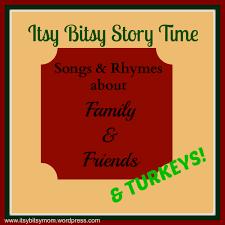 Family Friends Turkeys Itsybitsymom