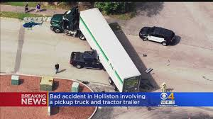 Pickup Truck, Tractor-Trailer Involved In Holliston Crash « CBS ... Auto Repairused Cars In Massachusetts Natick Ashland Milford Ma Tohatruck Hollistonnewcomersclub Man Flown To Hospital After Crashing Into Side Of Ctortrailer New And Used Trucks For Sale On Cmialucktradercom Holliston Septic 40 Off System Cructiholliston Hopkinton Police Unveil New Patrol Truck News Metrowest Daily 1980 Chevrolet Ck 10 Classiccarscom Cc1080277 Semi Truck Shipping Rates Services Uship And Equipment Postissue 1819 2010 By 1clickaway Issuu Hrtbeat June 27 2017 Youtube Dump Overturns Mass Necn Antique Mack 6 Wheel Dump Pinterest