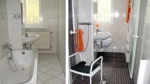 vorher nachher im schlauchbad mit bodengleicher dusche
