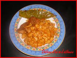 pate a la tunisienne makrouna sauce tomate pates délices d ici et d ailleurs