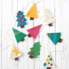 Felt Christmas Tree Garland Kids Craft