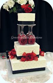 Best 25 Red Wedding Cakes Ideas On Pinterest Big