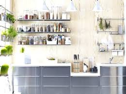 etageres de cuisine etagere deco cuisine cuisine avec etageres condiments ikea idee deco