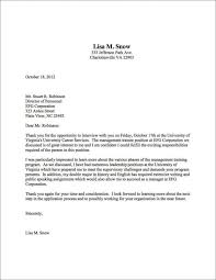 Thank you letter after interviews full picture write job interview