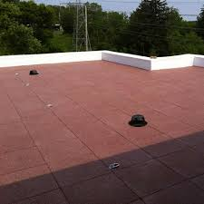 what flooring features are for rooftop patios rooftop