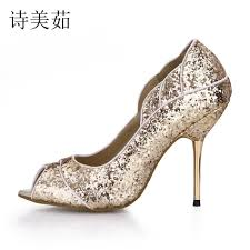 compare prices on gold peep toe online shopping buy low price