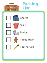 With These Simple Picture Checklists Your Kids Can Even Do