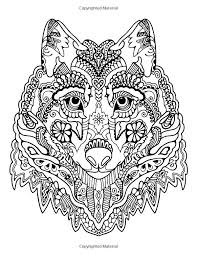 Awesome Animals A Stress Management Coloring Book For Adults Adult