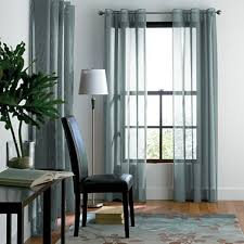 Jcpenney Sheer Grommet Curtains by Sheer Curtains Studio Grommet Top Solar Mesh Panel Jcpenney