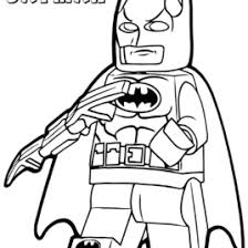 Lego Batman Coloring Book Robin Pages Cooloring