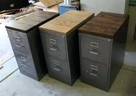 desk under desk file cabinet oak refinished 2 drawer letter size