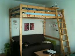Ikea Stora Loft Bed by Ikea Stora Double Loft Bed Wooden Pine Rare Great For All Ages