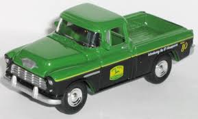100 Cameo Truck JOHN DEERE TRACTORS 1955 55 CHEVROLET CHEVY CAMEO Rubber Tire