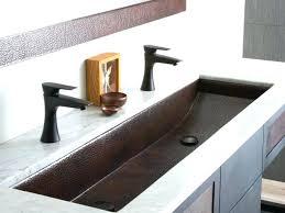 Trough Bathroom Sink With Two Faucets Canada by Outstanding Bathroom Sink Trough Clean Bathroom Bathroom Trough