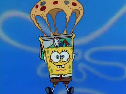 Krusty Krab Pizza Images Parachute Wallpaper And Background Photos