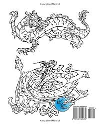 Amazing Dragons Coloring Books For Adults