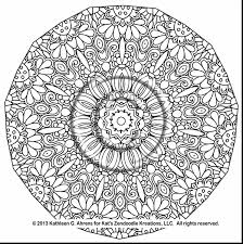 Outstanding Complex Mandala Coloring Pages With Printable And Free