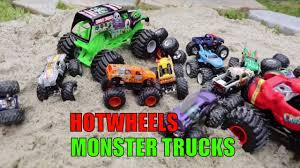 Monster Truck Videos For Kids HOT WHEELS MONSTER JAM Truck - YouTube