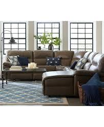 Recliner Sofa Slipcovers Walmart by Macys Leather Sofas Sectionals Leather Sectional With Chaise 1