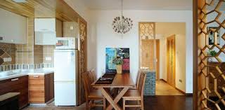 Kitchen Dining Room And Partition Picture