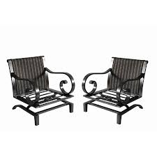Orchard Supply Patio Furniture by Shop Allen Roth Pardini Aluminum Patio Conversation Chair At