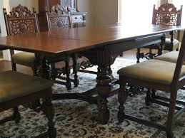 Antique Dining Room Tables Furniture 1930 Decor Ideas And