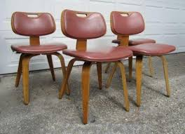 Banana Shaped Rocking Chairs by Vintage Thonet Chair Ebay