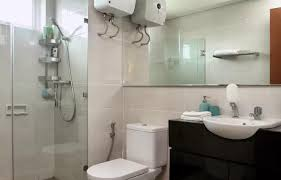 Dua Upon Entering Bathroom by Apartment Green Bay Condominium By Kevin Jakarta Indonesia