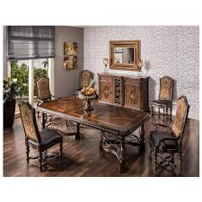 opulent 5 piece formal dining set el dorado furniture