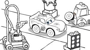 LEGO Cars Coloring Pages