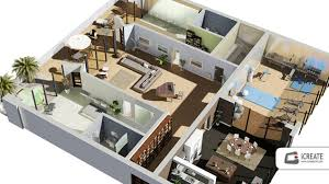 2d Floor Plan 3d Cool Home