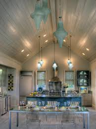 Lighting Solutions For Cathedral Ceilings by Blue Kitchen Paint Colors Pictures Ideas U0026 Tips From Hgtv Hgtv
