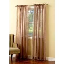 Boscovs Blackout Curtains by Julie Crushed Jacquard Stripe Sheer Panel Boscov U0027s